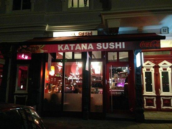 Katana Sushi: Façade