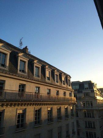 Hotel Westminster: Вид с балкона