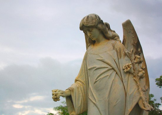 Key West Cemetery: Angel