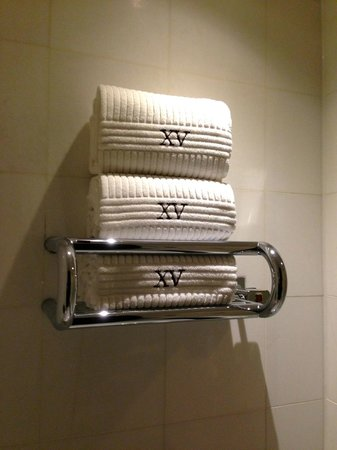 XV Beacon : Towel warmer!  Nice touch.