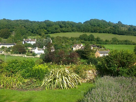 Masons Arms: The view from the 'cottage' rooms