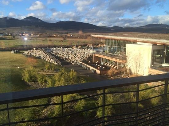 Resort Barrière Ribeauvillé : Vue depuis la chambre vue vignoble