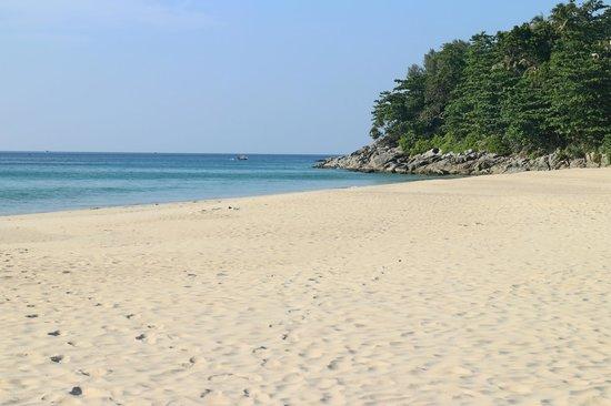 Andaman White Beach Resort : Strandbelegung in der Hochsaison!