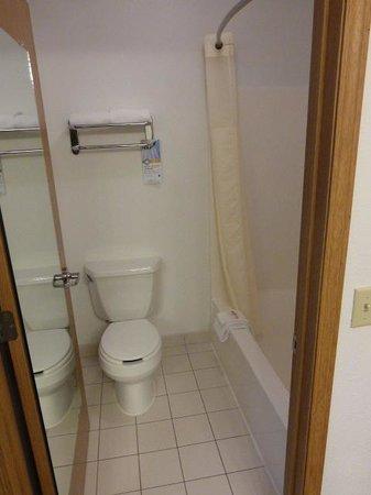 Quality Inn: Small bath