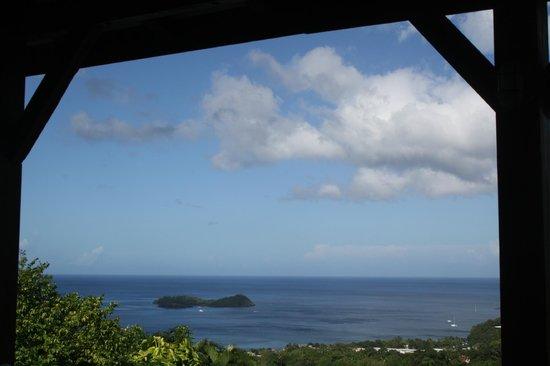 Gite Macanao: Vue depuis la terrasse