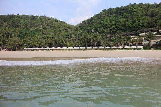 Andaman White Beach Resort : Sicht auf die Anlage