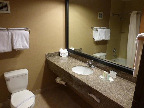 Comfort Suites: Bathroom