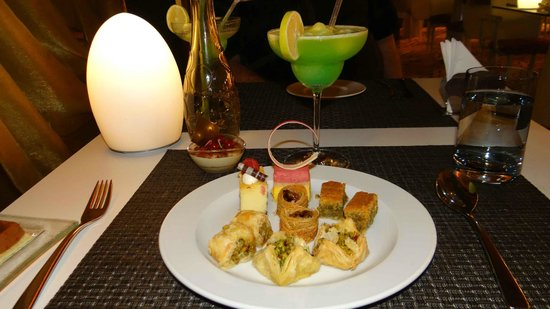 Flying Carpet: A selection of exquisite pastries and dainty morsel