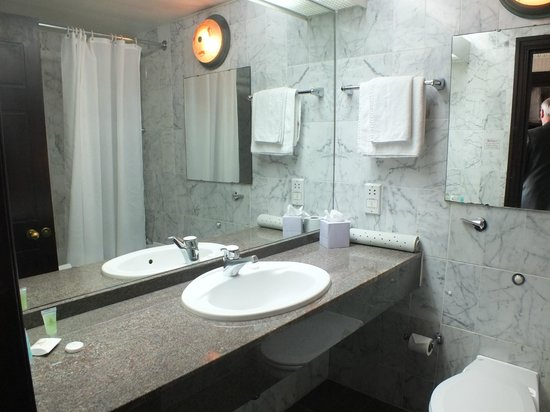 Britannia International Hotel : The Bathroom was spotless