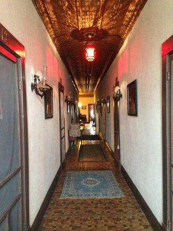 Miss Hattie's BORDELLO MUSEUM: The hallway