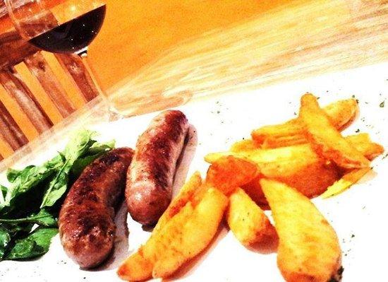Bella Italia Restaurant : Sausige