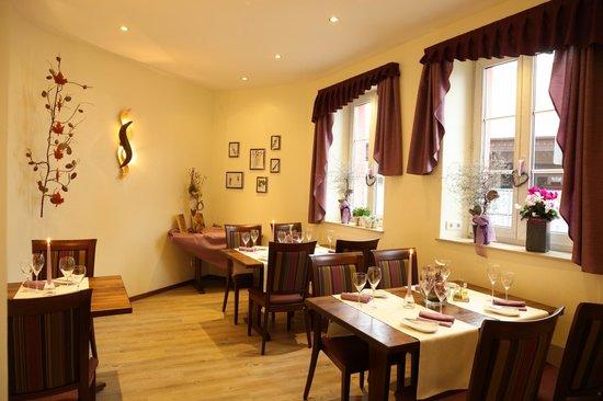 Hotel Goldenes Lamm : Restaurant Nebenzimmer