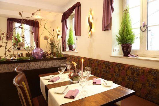Hotel Goldenes Lamm : Restaurant