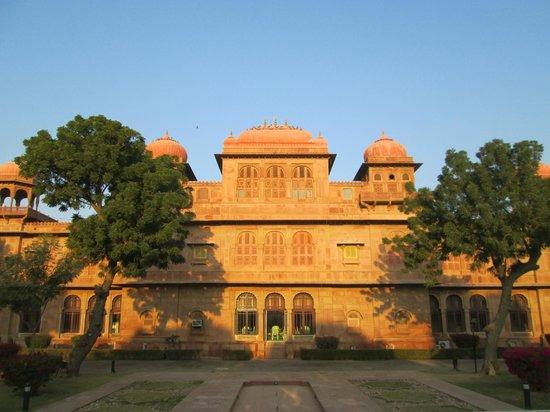 Lallgarh Palace: palazzo