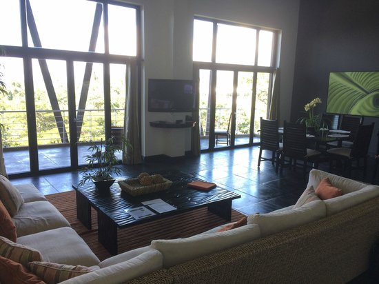 The Preserve at Los Altos: Living/Dining area of our penthouse.
