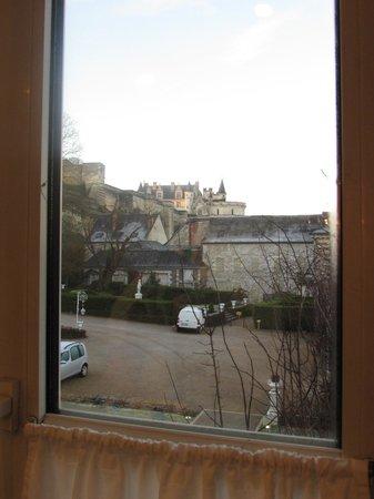 Le Choiseul : Vista da janela do banheiro - Castelo de Amboise