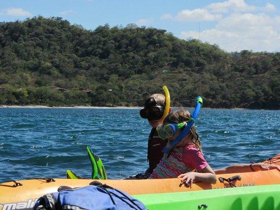 Pura Vida Ride : Snorkeling from sea kayaks