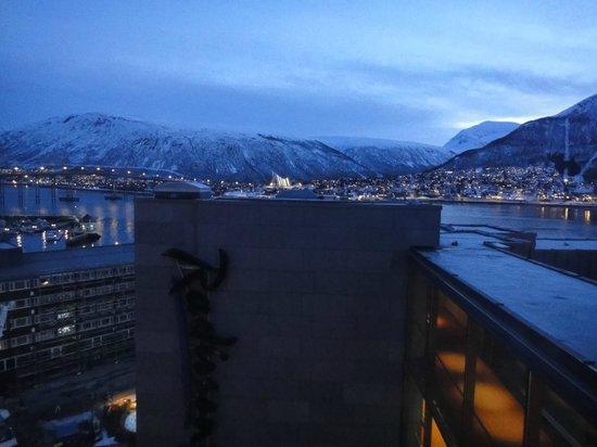 Radisson Blu Hotel, Tromso : Zimmerblick 10.Stock