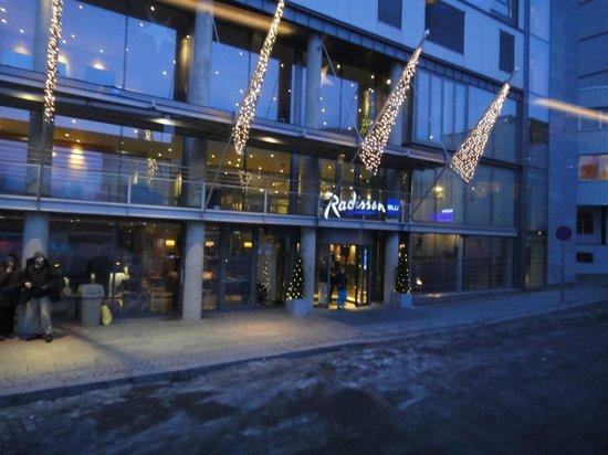 Radisson Blu Hotel, Tromso : Haupteingang