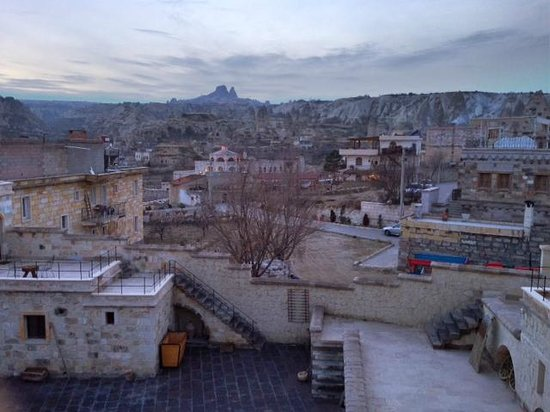 Doors Of Cappadocia Hotel: View from the breakfast room