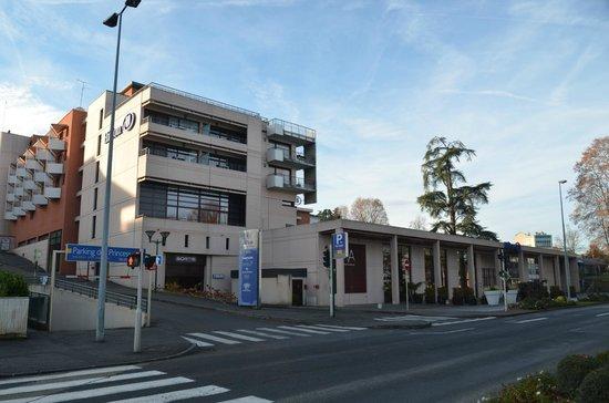 Hilton Evian-les-Bains: Fachada