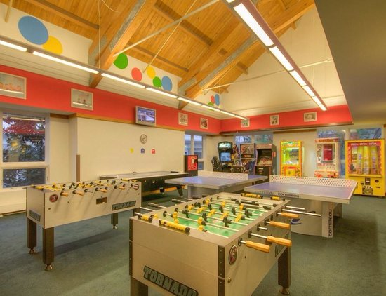Hyatt Regency Chesapeake Bay Golf Resort, Spa & Marina : Awesome free game room!