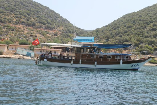 Kas, Turchia: Rest on the Ece Boat