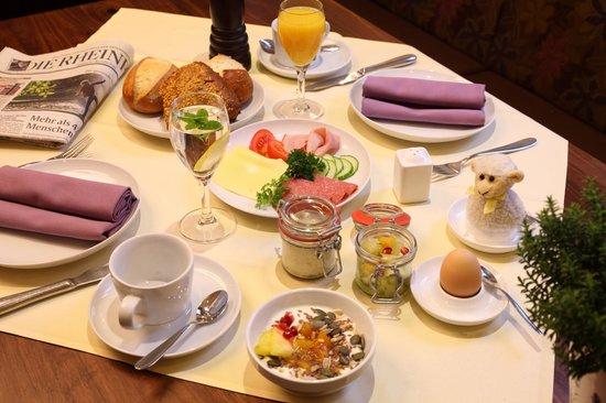 Hotel Goldenes Lamm : Frühstück