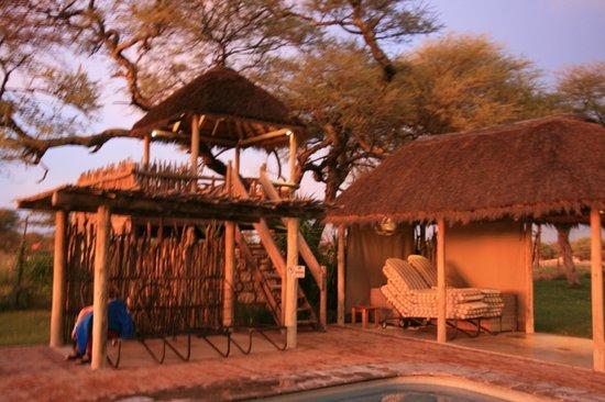 Onguma Game Reserve Campsites