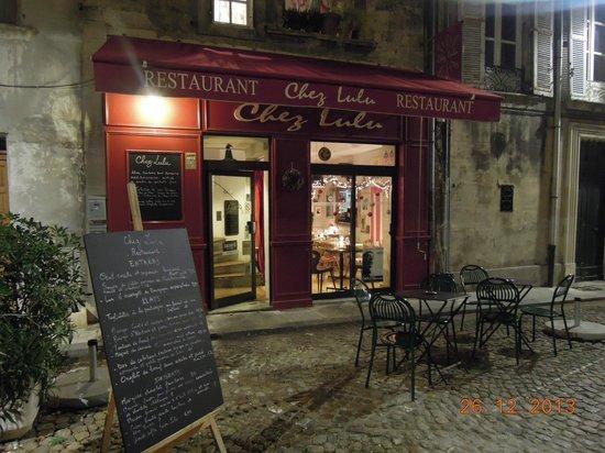 Chez Lulu : Замечательный ресторан