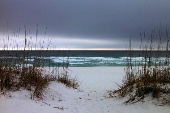 Pensacola Beach, FL: Even gloomy days are beautiful along this seashore