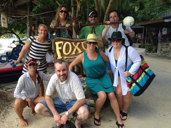 Big Blue Excursions: All of us at Foxy's