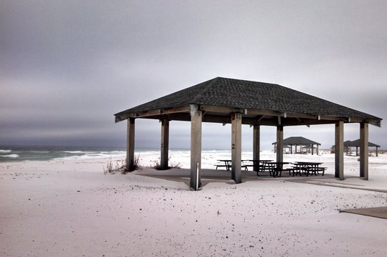 Gulf Islands National Seashore - Florida District: A beautiful place for a picnic