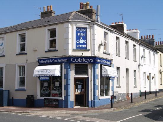cobleys fish & chip cafe: COBLEYS TORQUAYS OLDEST FISH & CHIP CAFE 1927