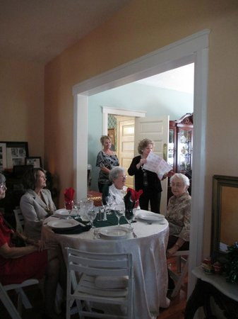 Parrish Grove Inn: Holiday luncheon