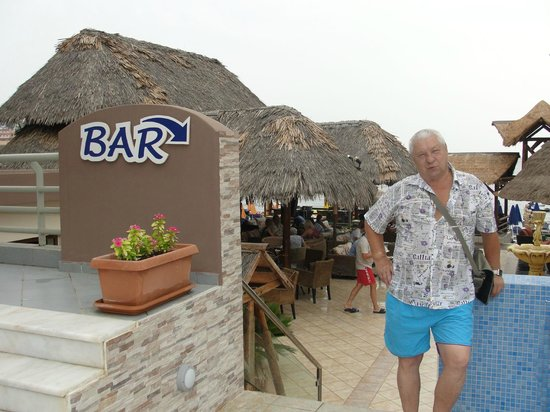 Hotel Nostos: Возле бара