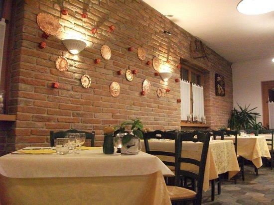 Hotel Locanda le Tre Oche : Sala ristorante