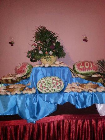 Santiago Beach Resort: Xmas day buffet