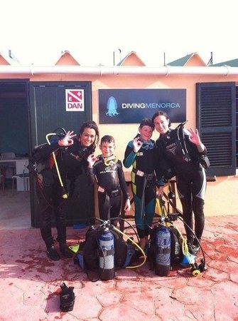 Diving Menorca: Sus primeros pasos en el buceo