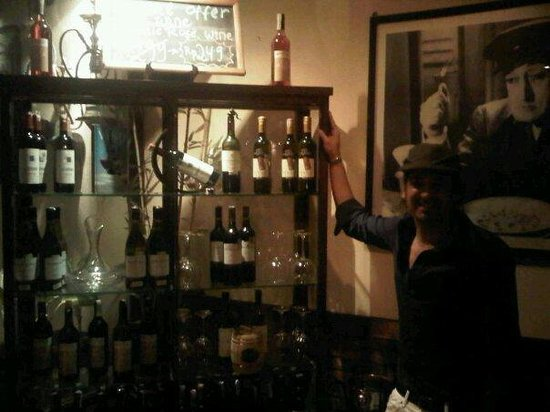 Little Italy : Many choise of wine...italian,Australian,Chile,France,South Africa and more...