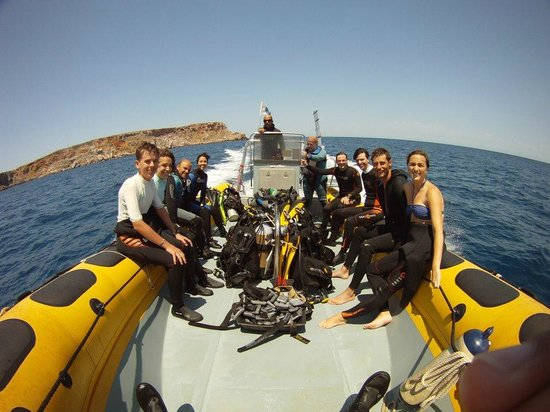 Diving Menorca: De vuelta al centro