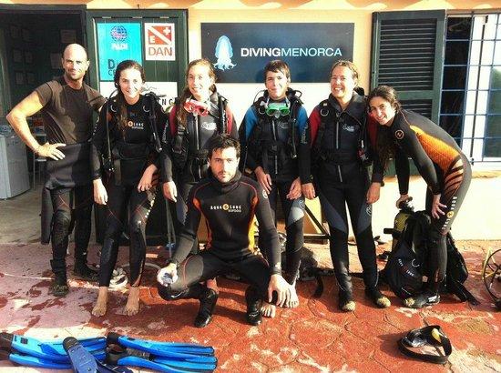 Diving Menorca: ¡Inmersión terminada!