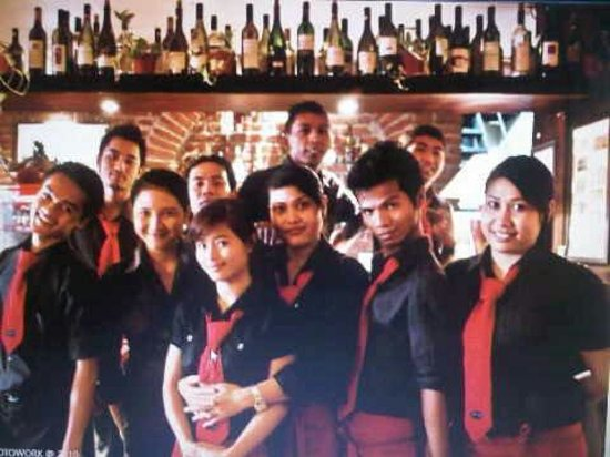Little Italy : The best staff in Indonesia!!!!