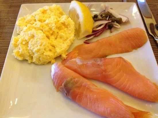 Rashleigh Arms : Breakfast