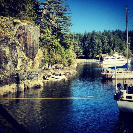 Blue Pacific Yacht Charters: The Destination - Smuggles Cove