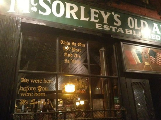 McSorley's Old Ale House: Street View