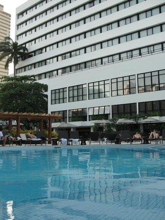 Wish Hotel da Bahia by GJP: Área externa no hotel