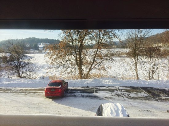 Super 8 White River Junction : View from the room