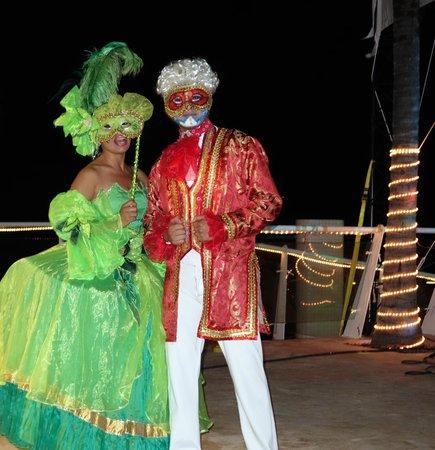Cozumel Palace : New Year show