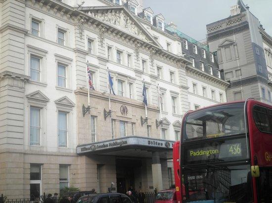 Hilton London Paddington: Η πρόσοψη του ξενοδοχείου
